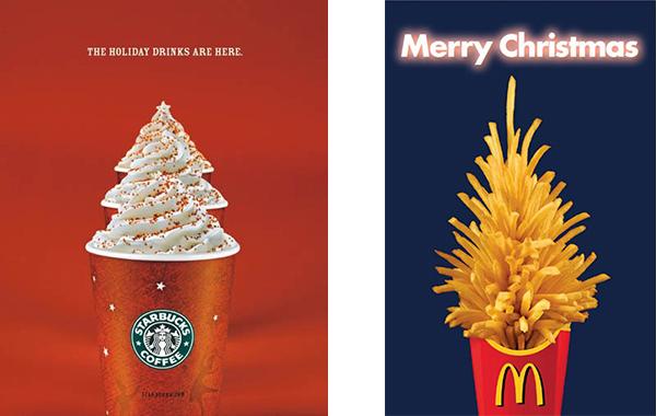 новогодняя реклама