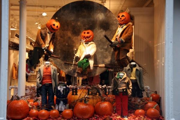 хеллоуин в магазинах