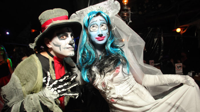 хеллоуин в ночных клубах